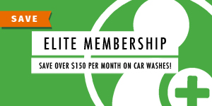 Elite Membership - save over $150 per month on can car washes